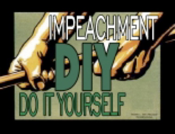 Impeach yourself logo